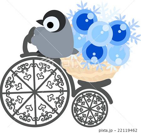 自転車に乗る可愛い赤ちゃんペンギンのイラスト素材 22119462 Pixta