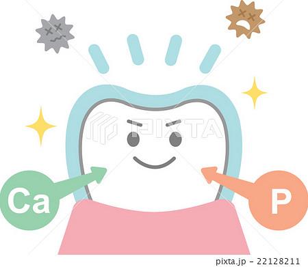 フッ素の効果のイラスト素材 22128211 Pixta