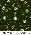 Repeat design / Pattern / Dragonfly / Vector 22128409