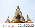 アユタヤのタイの仏像の後ろ姿 22132282