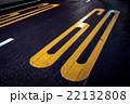 道路に書かれた60km/hの速度制限標示 22132808