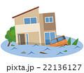 洪水 水害 住宅 22136127
