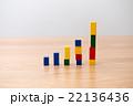 棒グラフ グラフ データの写真 22136436