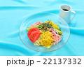 食べ物 冷やし中華 夏の写真 22137332