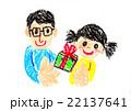 プレゼント(クレヨン) 22137641