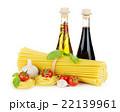 Pasta, tomatoes, basil, olive oil, vinegar 22139961