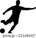 サッカー 22146407