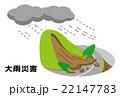 大雨 土砂崩れ 土砂災害【災害・シリーズ】 22147783