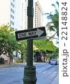 一方通行・道路標識(ハワイ) 22148824