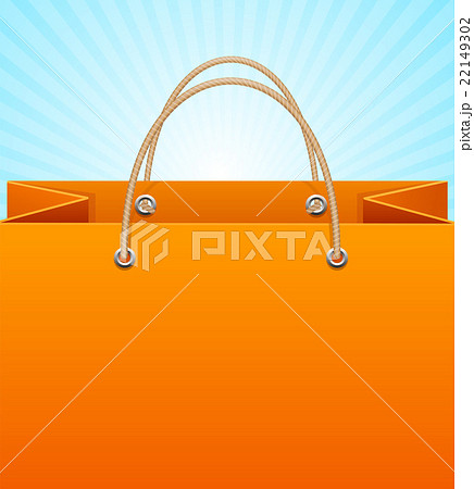 paper bag background sale vectorのイラスト素材 22149302 pixta