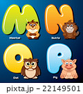 Cute Animals and Birds in Alphabetical Order 22149501