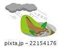 大雨 土砂崩れ 土砂災害【災害・シリーズ】 22154176