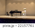 grand piano on stage 22157761