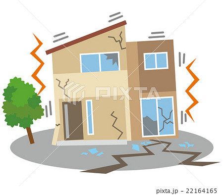 u5730 u9707  u5bb6  u4f4f u5b85 u306e u30a4 u30e9 u30b9 u30c8 u7d20 u6750  22164165  pixta earthquake clip art for schools earthquake clipart free