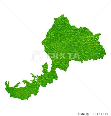 福井県地図 22164839
