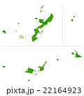 沖縄県地図 22164923