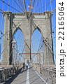 ブルックリンブリッジ ブリッジ 道路の写真 22165064