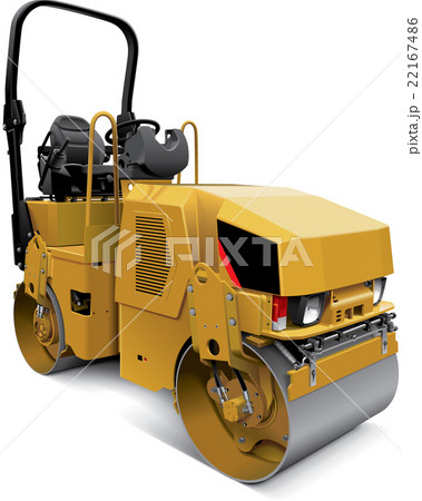 Tandem vibratory roller 22167486