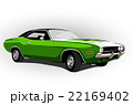 american muscle car green 22169402
