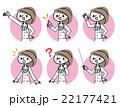 医者 女医 表情のイラスト 22177421