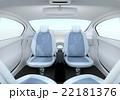 車 インテリア シートのイラスト 22181376