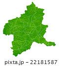 群馬県地図 22181587
