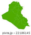 イラク 地図 国 アイコン  22186145