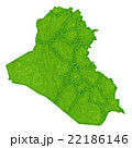 イラク 地図 国 アイコン  22186146