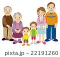 三世代家族 6人 22191260