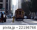 サンフランシスコ カリフォルニア アメリカ アメリカ合衆国 路面電車 坂の街 乗り物 トラベル 22196766