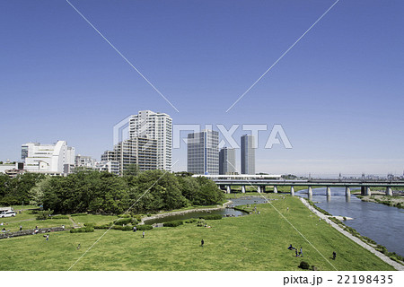 二子玉川駅前風景 22198435