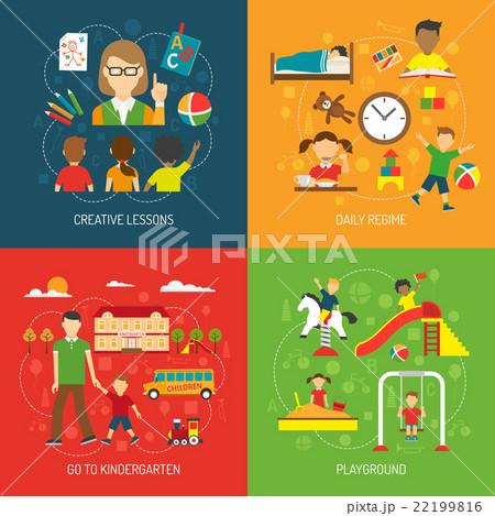 Kindergarten 2x2 Concept 22199816
