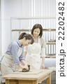 陶芸をする女性 22202482