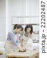 陶芸をする女性 22202487