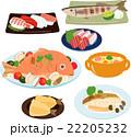 魚料理のイラストセット 22205232