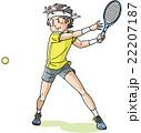 テニスプレイヤー 22207187