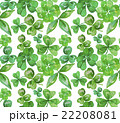 Watercolor clover seamless pattern 22208081