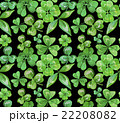 Watercolor clover seamless pattern 22208082