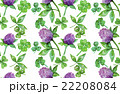 Watercolor clover seamless pattern 22208084