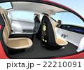 車 乗用車 シートのイラスト 22210091
