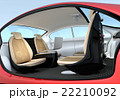 インテリア 自動運転 シートのイラスト 22210092