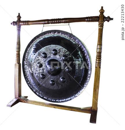 Thailand gongの写真素材 [22213430] - PIXTA