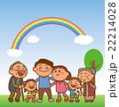 家族 ベクター 人物のイラスト 22214028