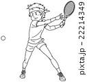 テニスプレイヤー 22214349