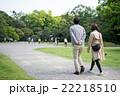 散歩 夫婦 後姿の写真 22218510