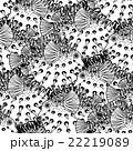 Graphic puffer fish pattern 22219089