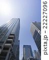 青空 高層ビル 超高層ビルの写真 22227096