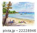 プロクロワ島のビーチ 22228946