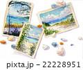 ビーチのポストカード 22228951