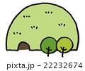 トンネル山(イラストマップ) 22232674